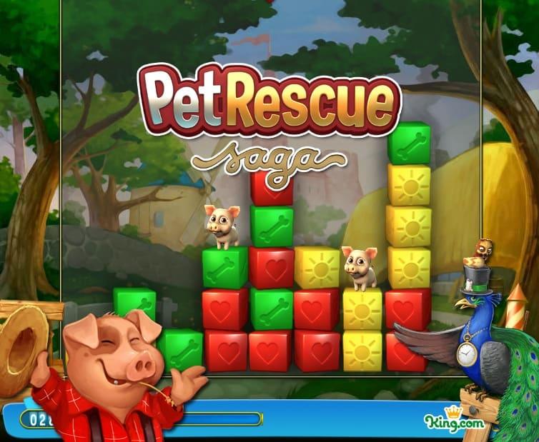 Pet Rescue Saga imagem inicial