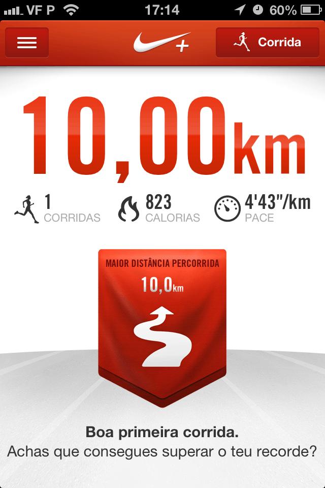Nike running para iPhone