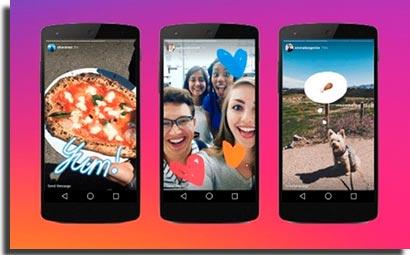 snapchat instagram stories