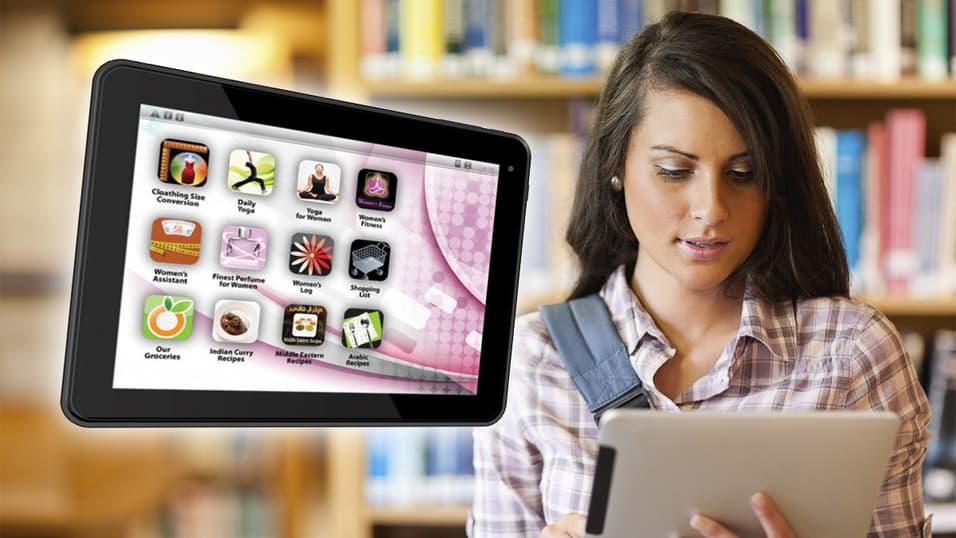 epad femme novo tablet só para mulheres
