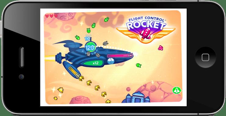 Como jogar o aplicativo para iphone ipad e android Flight Control Rocket
