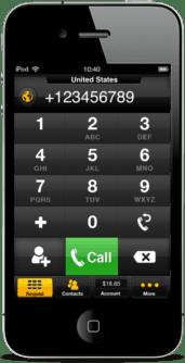 como fazer chamadas com o Footalk