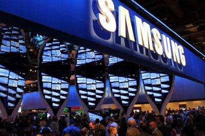 Lançamento do novo smartphone da Samsung
