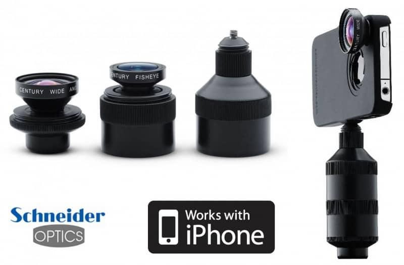 câmera do iPhone 5 iPro lens system