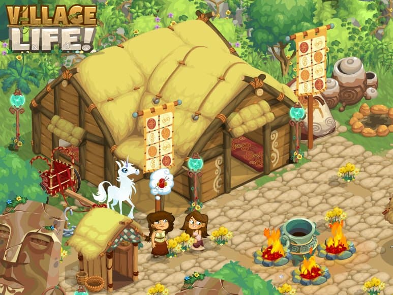 Village Life nível avançado