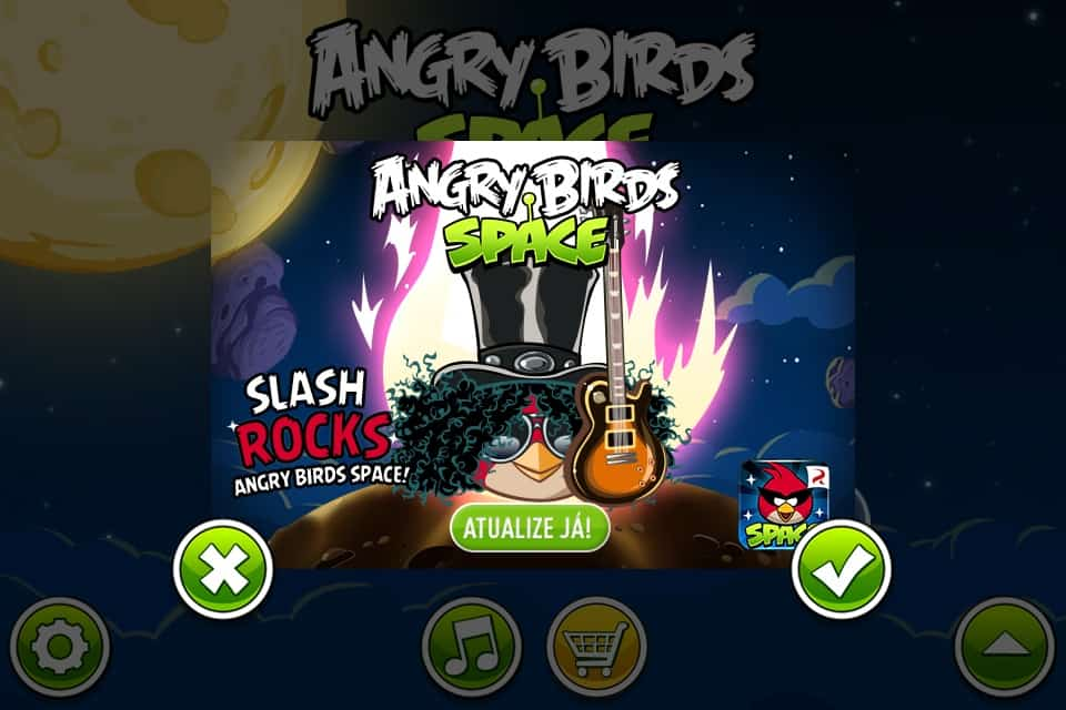 Angry Birds slash