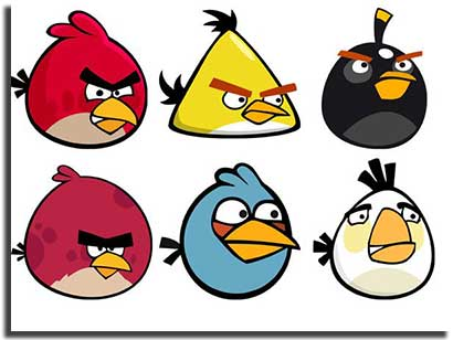 angry birds gratuito personagens