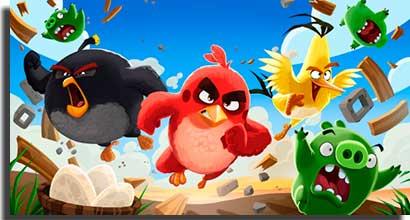 angry birds toons jogo