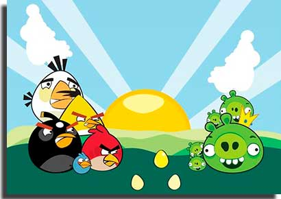 angry birds toons personagens