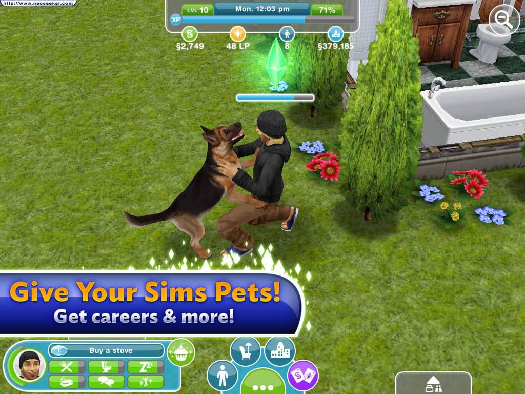 animais sims freeplay para iphone ipad e android