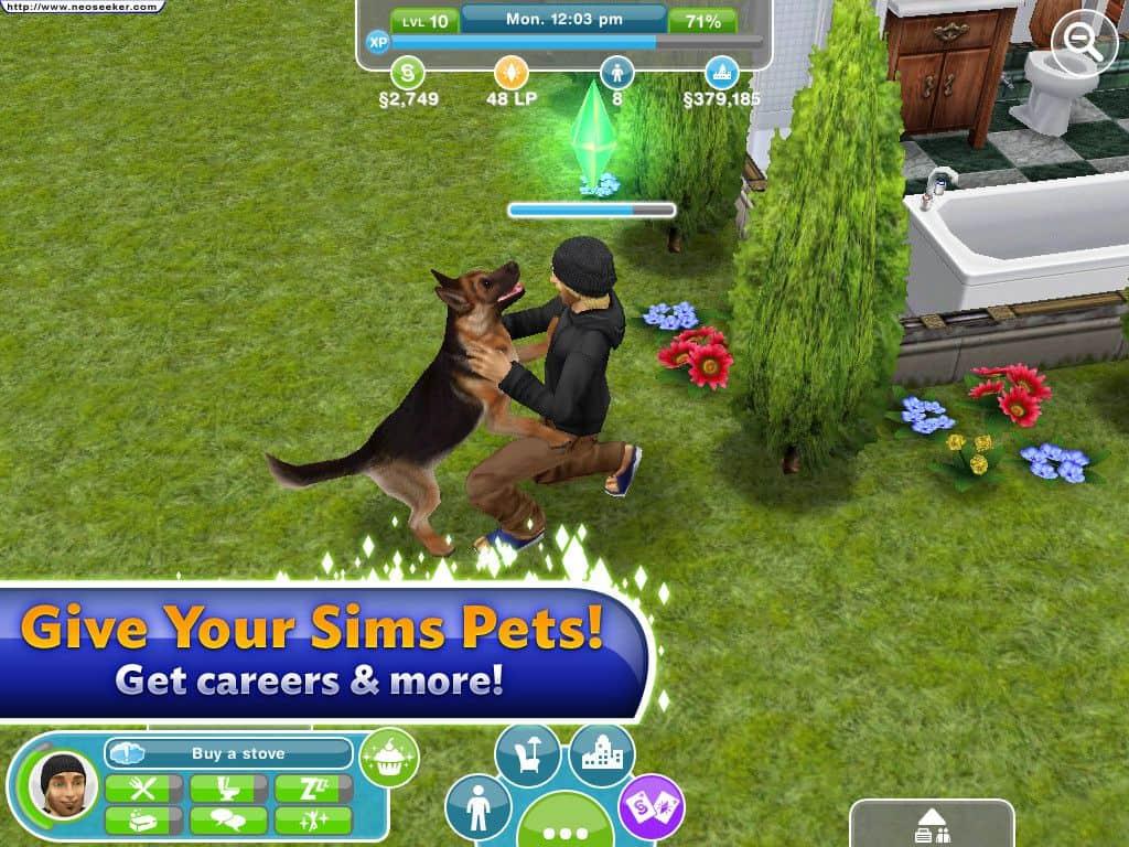 animais sims freeplay para iphone ipad e android