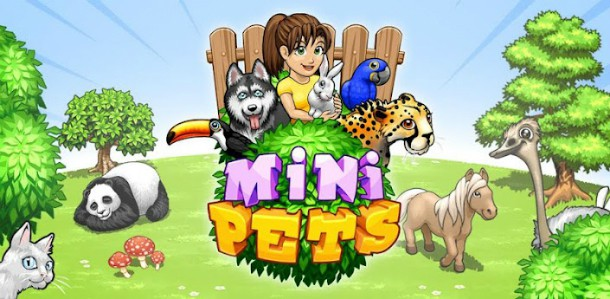 aplicativo mini pets para iphone ipad ipod touch android e web