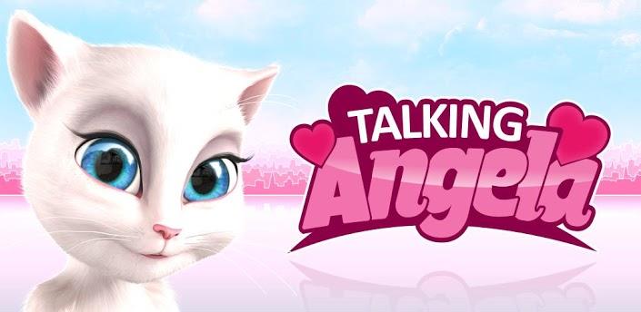 aplicativo talking angela para ios e android