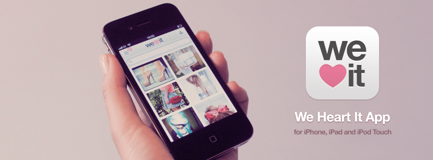 aplicativo we heart it para ios e web