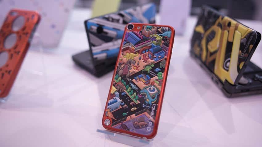 capa autocolante para iphone