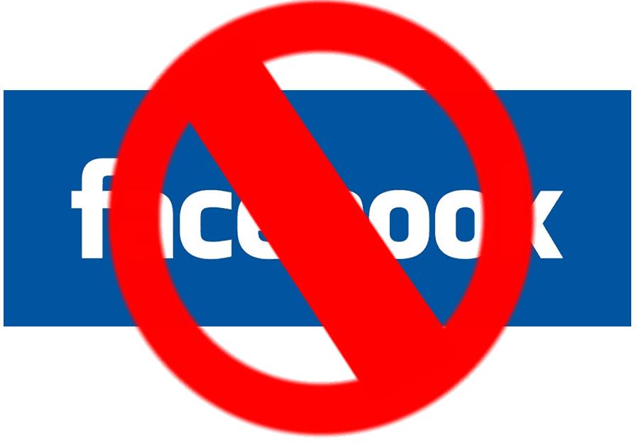 cancelar conta no Facebook