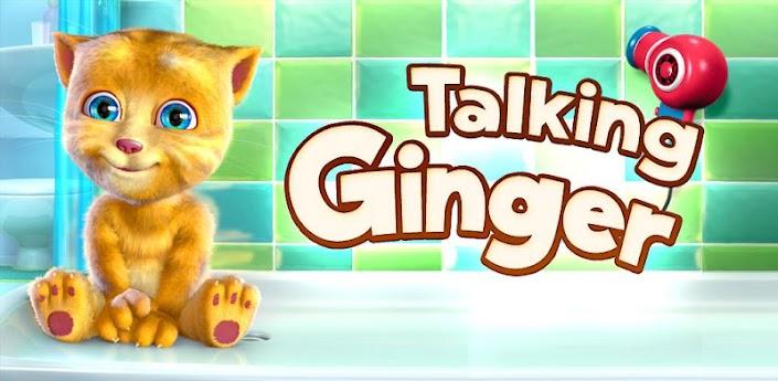 como jogar o aplicativo Talking Ginger para iphone e android