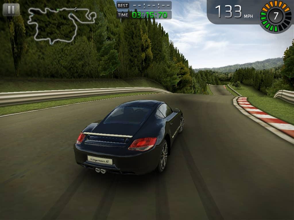 como jogar o aplicativo sports car challenge para ios e android