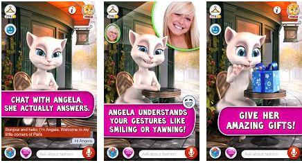 como jogar o aplicativo talking angela para ios e android