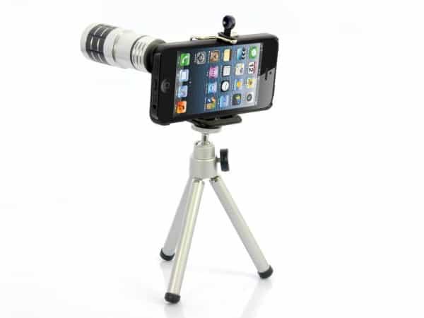 câmera do iPhone 5 telephoto lens