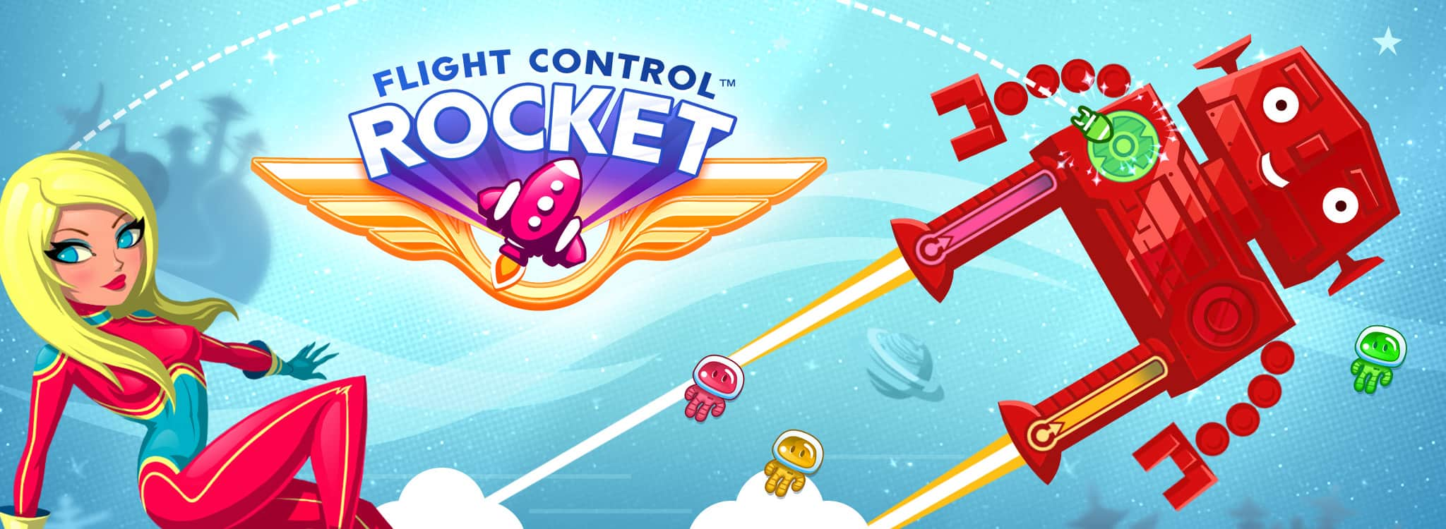 flight control rocket para iphone ipad e android
