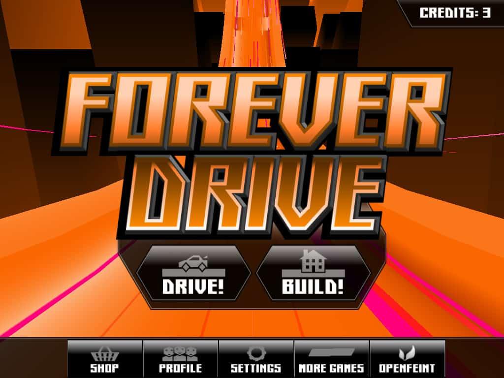 Como jogar o aplicativo Forever Drive para iOS