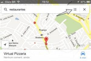 Google Maps nexus 4