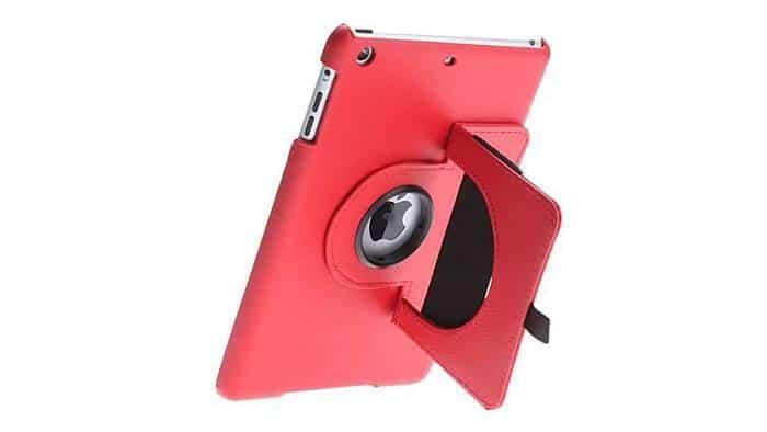 Estojo de Cabedal para iPad Mini