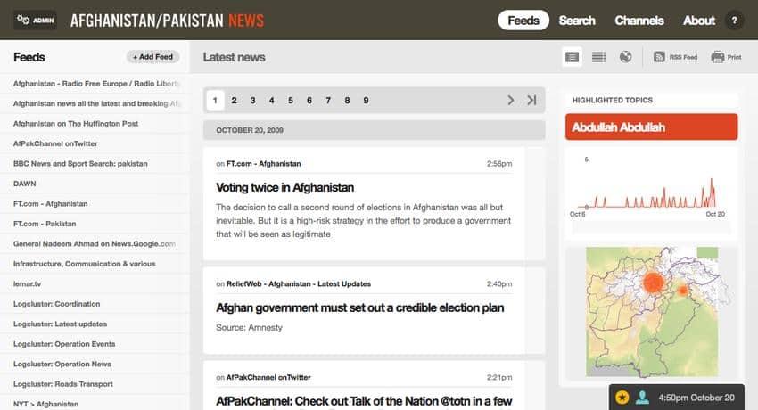 managing news aplicativo que pode substituir o google reader