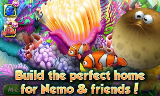 como jogar o aplicativo nemo's reef para ios e android