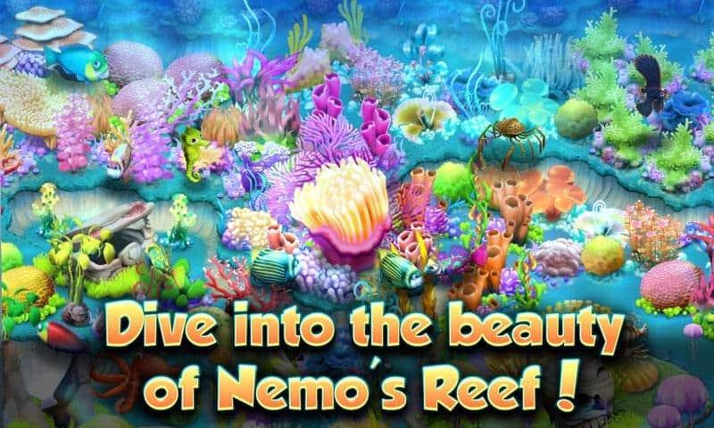 conclusão do aplicativo nemo's reef para ios e android