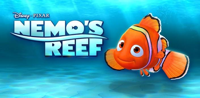 aplicativo nemo's reef para ios e android