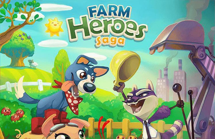 novo jogo da empregas king farm heroes saga