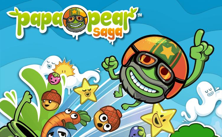 novo jogo da empresa king papa pear saga
