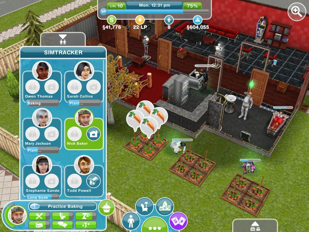 outros comandos sims freeplay para iphone android e ipad