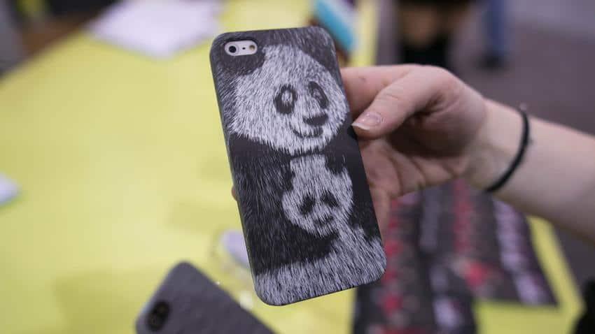 capa com textura peluda para iphone