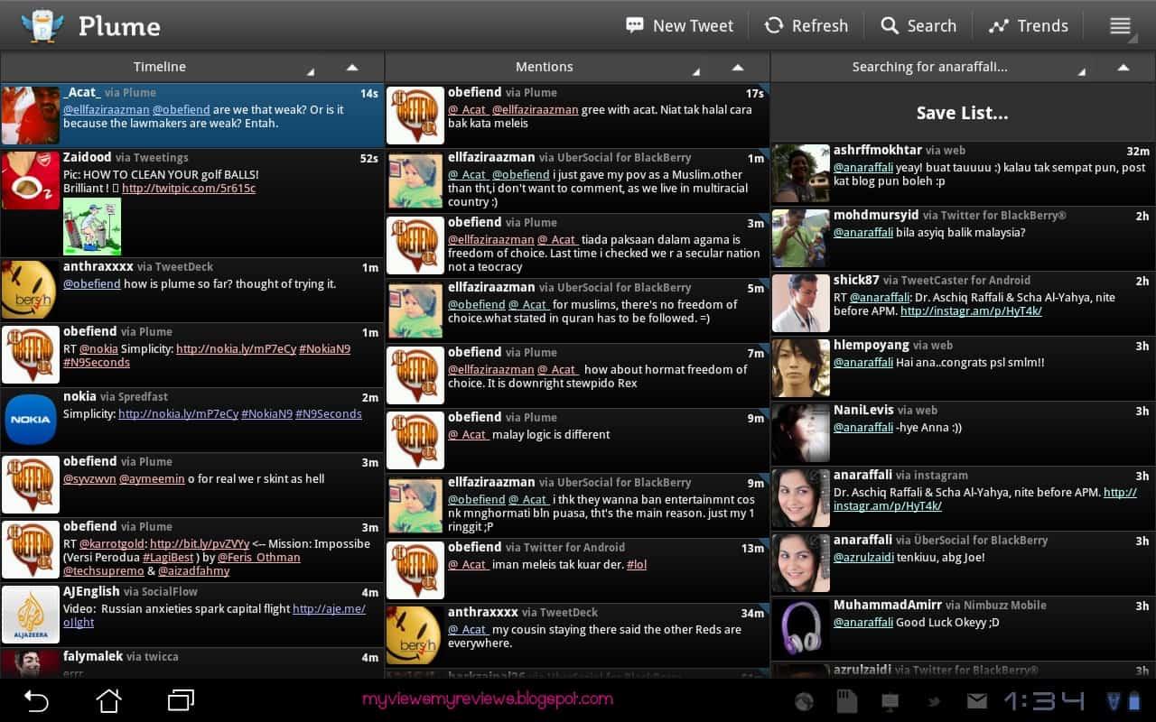 plume aplicativo que pode substituir o tweetdeck