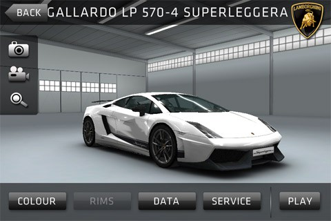 sports car challenge aplicativo para ios e android lamborghini