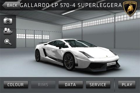 sports car challenge aplicativo para ios e android lamborghini