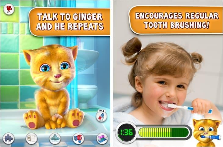 talking ginger curiosidades sobre o aplicativo para iphone e android
