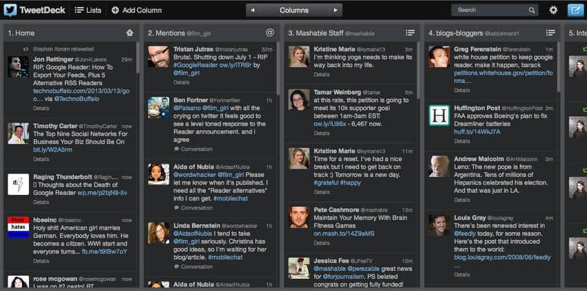 twitter aplicativo que pode substituir o google reader
