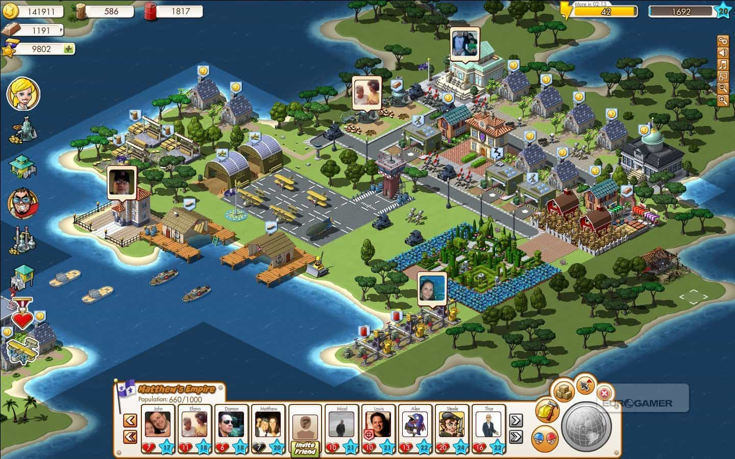vizinhos do aplicativo empires and allies para ios android e web