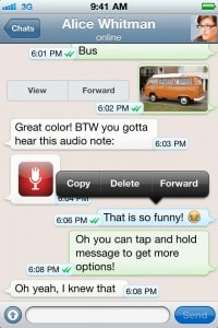 WhatsApp - exemplo 01