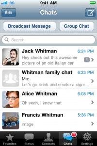 WhatsApp - exemplo 02