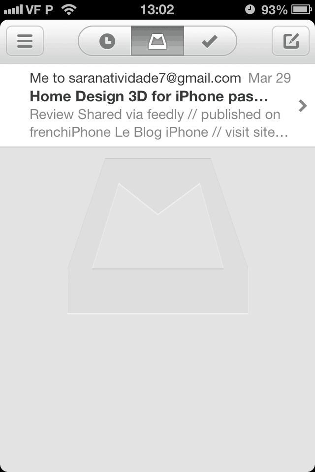 como usar o aplicativo Mailbox