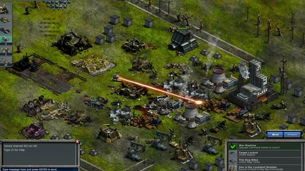 War Commander para Facebook