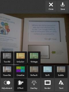 pixrl para Android como usar