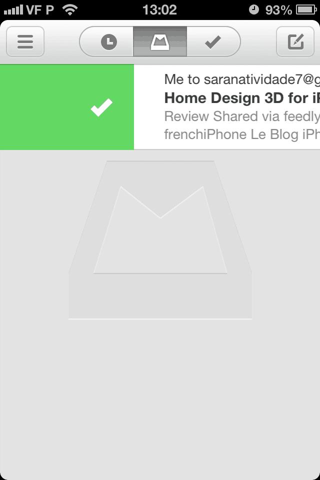 dicas para usar o aplicativo Mailbox para iPhone