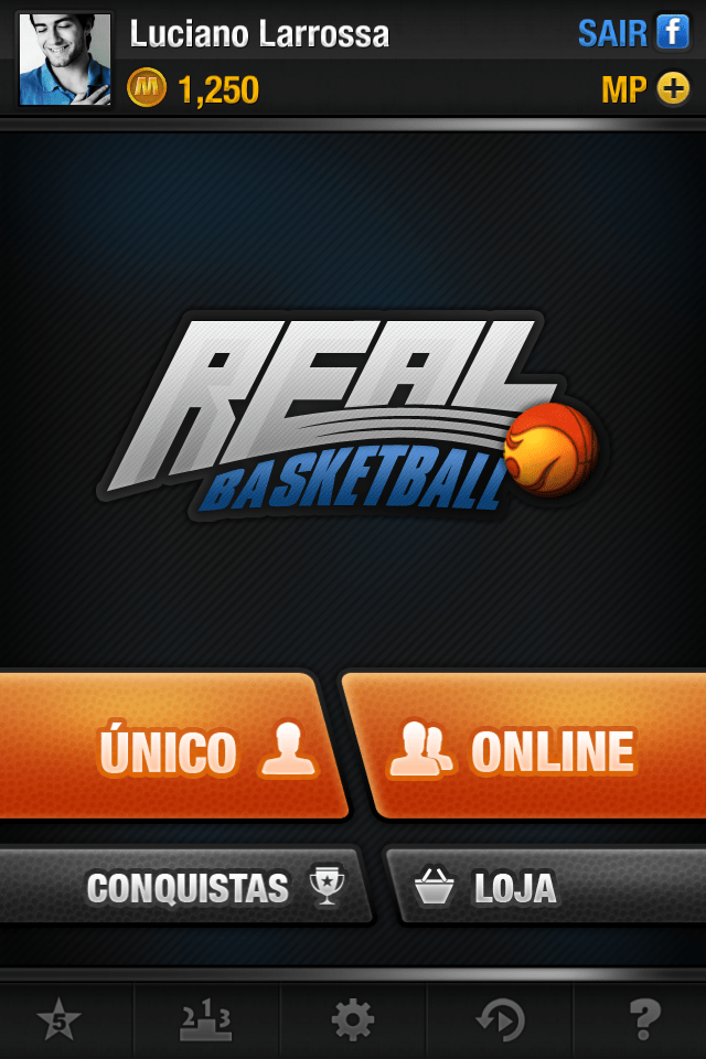 Real Basketball para iPhone