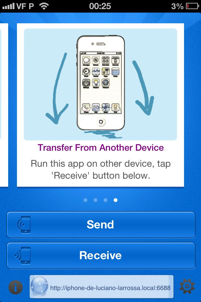 como transferir imagens do iPhone para Mac